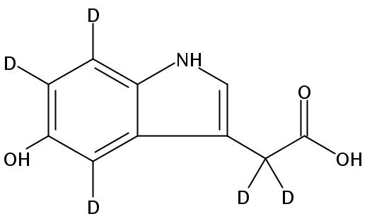 5-Hydroxyindole-4,6,7-D3-3-acetic-D2 Acid,1219802-93-3