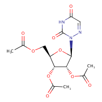 (-)-6-Azauridine 2', 3',5'-triacetate,2169-64-4