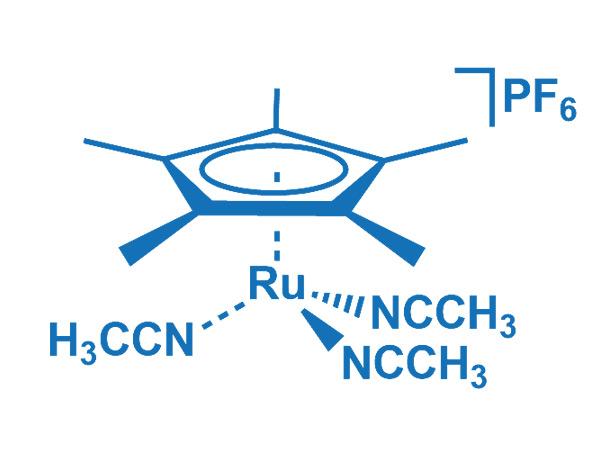 Tris(acetonitrile)pentamethylcyclopentadienyl ruthenium(II) hexafluorophosphate,99604-67-8
