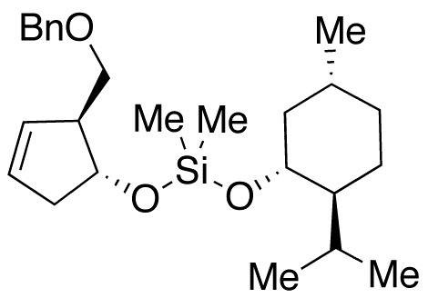 (1R,2S,5R)-1-[(1R,2S)-2-(Benzyloxy)methyl-3-cyclopenten-1-yloxy][[5-methyl-2-(isopropyl)cyclohexyl]o,NA