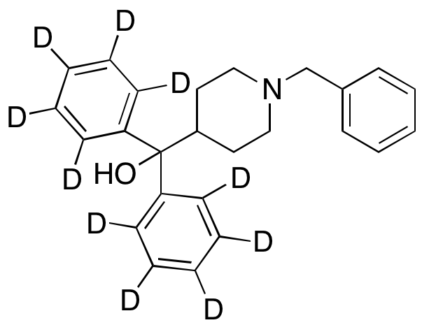 (1-Benzylpiperidin-4-yl)diphenyl-d10-methanol,NA