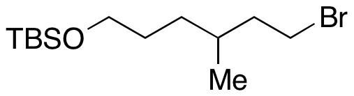 ((6-Bromo-4-methylhexyl)oxy)(tert-butyl)dimethylsilane,NA