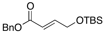 (E)-4-((tert-Butyldimethylsilyl)oxy)but-2-enoic Acid Benzyl Ester,NA