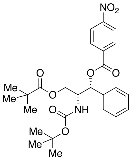 (1R,2R)-[1-(2,2-Dimethylpropanoyloxy)methyl-2-nitrobenzoyloxy-2-phenyl]ethyl Carbamic Acid tert-Buty,NA