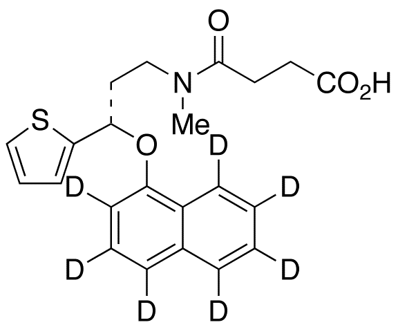 (S)-Duloxetine-d7 Succinamide,NA