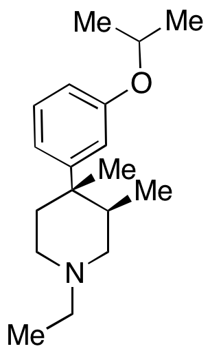 (3R,4S)-1-Ethyl-4-(3-isopropoxyphenyl)-3,4-dimethylpiperidine,NA