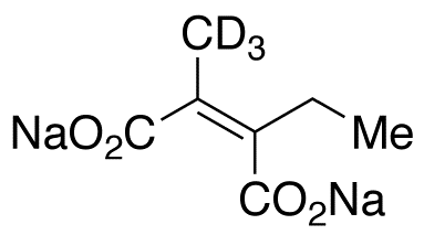 (Z)-2-Ethyl-3-methylmaleic Acid-d3 Disodium Salt,NA
