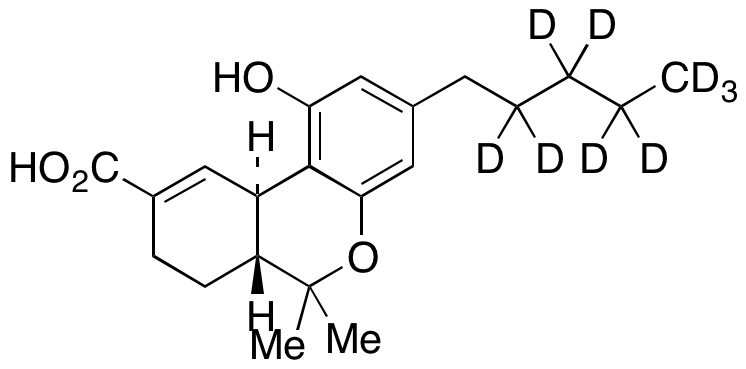 (-)-11-Nor-Δ9-Tetrahydro Cannabinol-9-carboxylic Acid-d9 (100 μg/mL in Methanol),NA