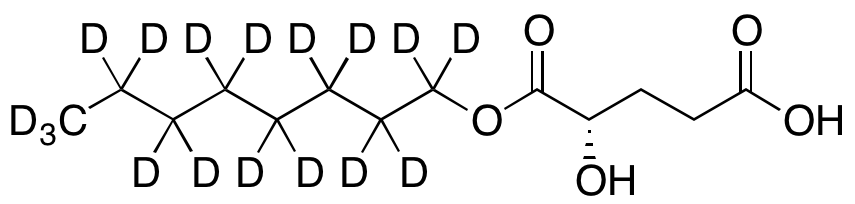 (2S)-Octyl-α-hydroxyglutarate-d17,NA