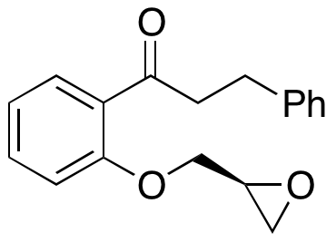 (S)-1-(2-(oxiran-2-ylmethoxy)phenyl)-3-phenylpropan-1-one,NA