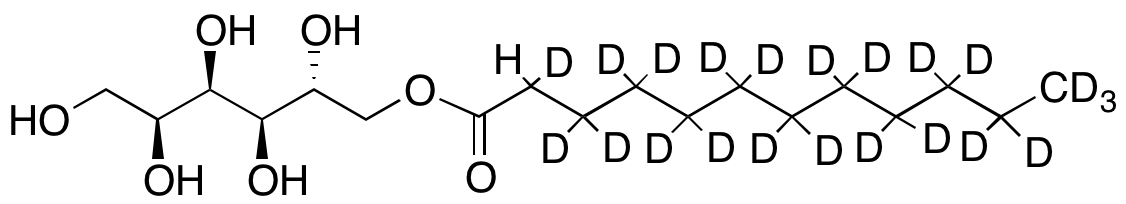 (2R)-Sorbitan Monolauric Acid Ester-d22 (Major),NA