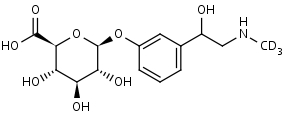 (R/S)-Phenylephrine-d3 Glucuronide,